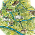 Mappa denominazione Merlara DOC