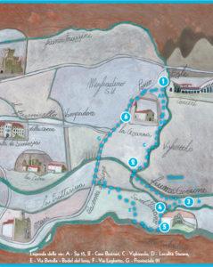 Percorso turistico Canali e idrovore a Merlara