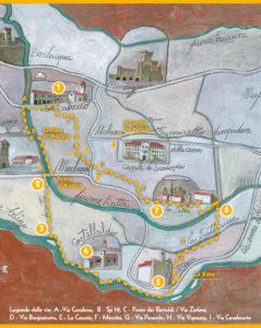 Percorso turistico Pievi e capitelli a Merlara